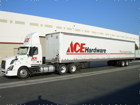 Ace Hardware Arrives at Our Facility