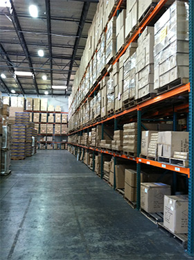 California distribution center, 3PL LA